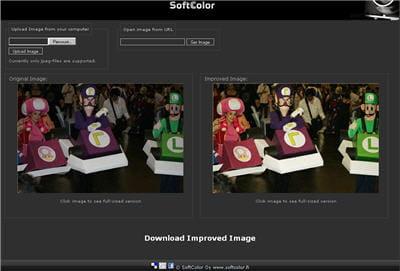 a gauche, la photo ratée, à droite, celle automatiquement et instantanément