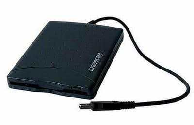photo d'un lecteur de disquette externe.
