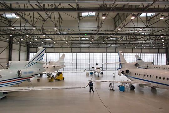 Dassault Falcon Service : 85 000 mé dédiés aux jets