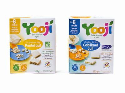 les portions surgelées pour bébé de yooji.