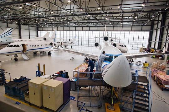Dassault Falcon Service : une station service pour jet