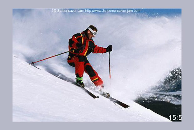 Les sports d'hiver à la montagne