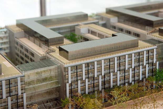 Siège BNP Paribas Cardif : architecture