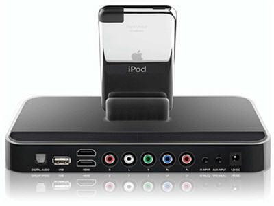 un dock à la connectique très complète, pour utiliser votre ipod comme disque