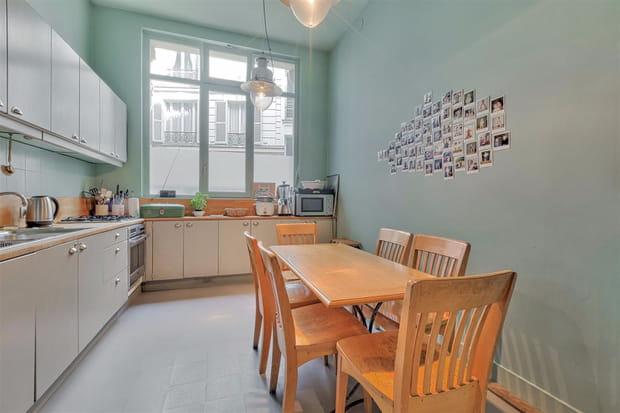 Une cuisine séparée