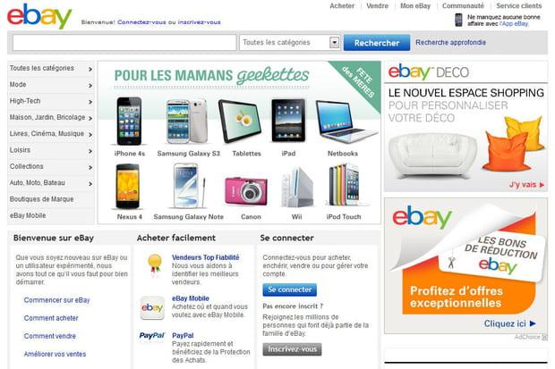 eBay en 2013