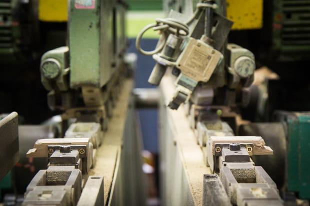 Trois types de machines suffisent pour l'usinage