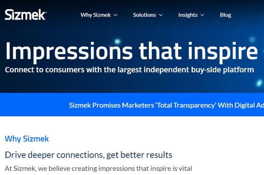 Non, la totale transparence du DSP Sizmek n'est pas une révolution