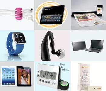 gadgets usb, claviers intelligents, tablettes, autant d'outils pour être plus