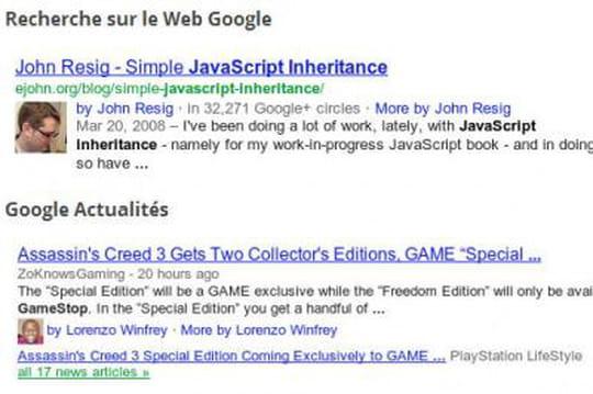 Google va enlever la photo des auteurs de ses résultats