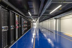 Au cœur du data center DC5de Scaleway, taillé pour les GAFAM