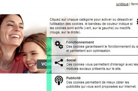 Cnil : comment Ferrero propose aux internautes de choisir leurs cookies