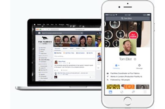 Iliad-Free adopte Facebook at Work
