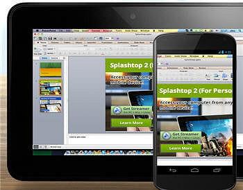 la solution splashtop 2 remote desktop