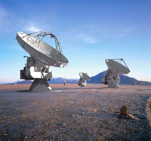 multiplast fabrique les cabines des antennes paraboliques des radiotélescopes