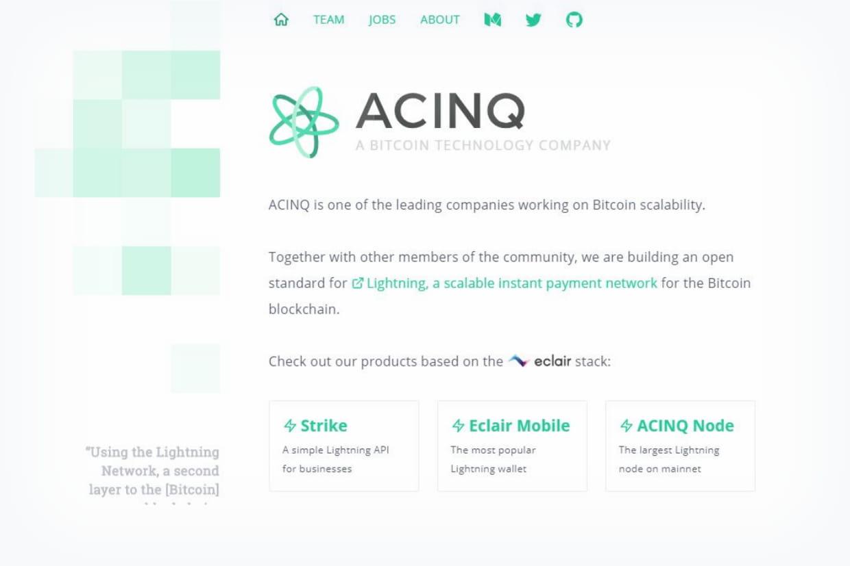 Info JDN : Acinq lève 7 millions d'euros pour rendre les paiements en bitcoin instantanés