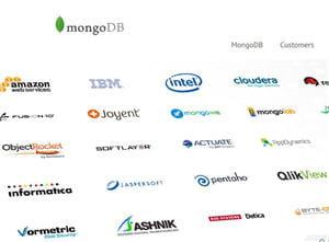 sur le sitede l'entreprisemongodb, il est indiqué que plus de 600 partenaires