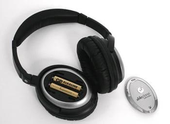 l'atténuation sonore, pour fonctionner, utilise 2 piles. sans, le casque reste