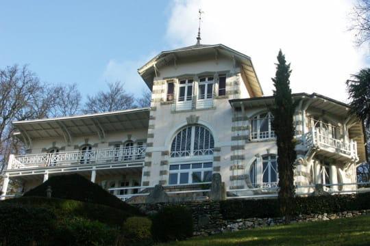 La villa de Nina Ricci, à Morlaix, dans le Finistère
