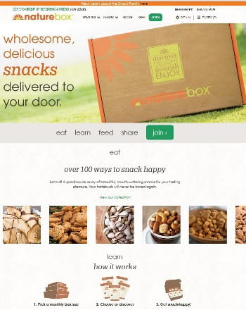 6ème : naturebox à +150%
