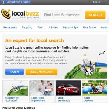 localbuzz, site d'informations locales