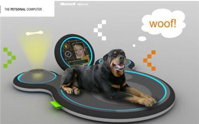 pour les chiens branchés high-tech