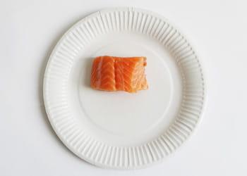 un euro = 75 grammes de saumon