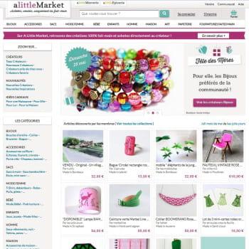 2ème : alittlemarket avec 965 000 vu