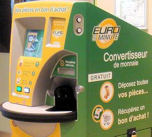 eurominute se rémunère auprès des enseignes avec la location de l'appareil et un