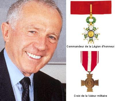 françois pinault est un des rares patrons à pouvoir arborer une médaille