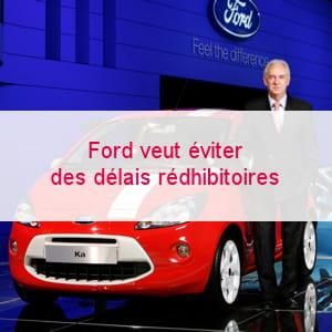 présentation de la nouvelle ka au salon de l'auto à paris.