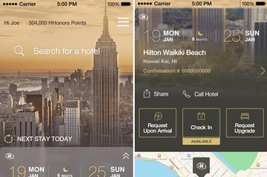 Le digital check-in débarque dans les 4100 hôtels Hilton du monde