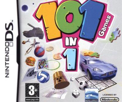 comme son nom l'indique, le titre regroupe 101 activités.