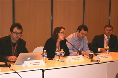 a l'occasion de la conférence 'réseau social d'entreprise, fonctions, usages et