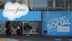 lors de son événement dreamforce 2011 qui s'est tenu du 30 août au 2 septembre,