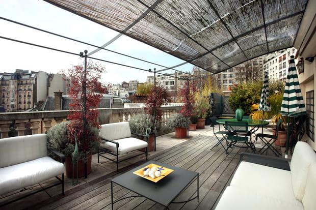 Plusieurs terrasses pour les beaux jours…