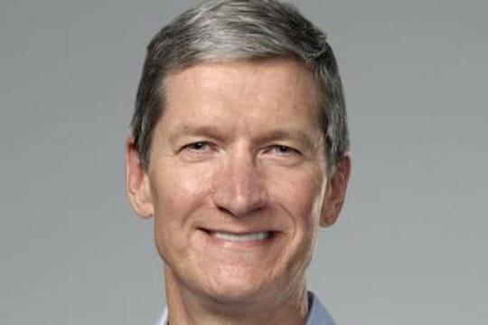 Apple : le salaire de Tim Cook s'effondre de 99%