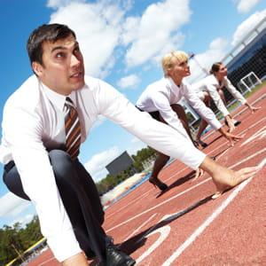 il est important de ne pas perdre de temps sur la concurrence.