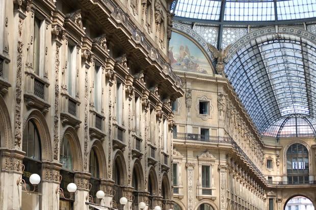 La Galleria Vittorio Emmanuele de Milan