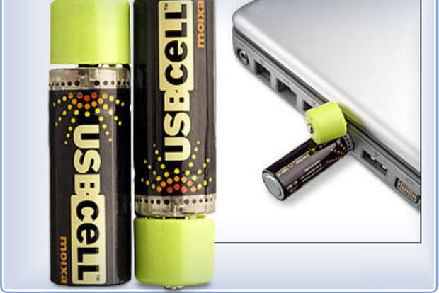 Piles rechargeables USB