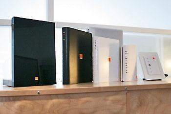 deg. à d. : livebox premium, pro, classiques grand publique et flybox