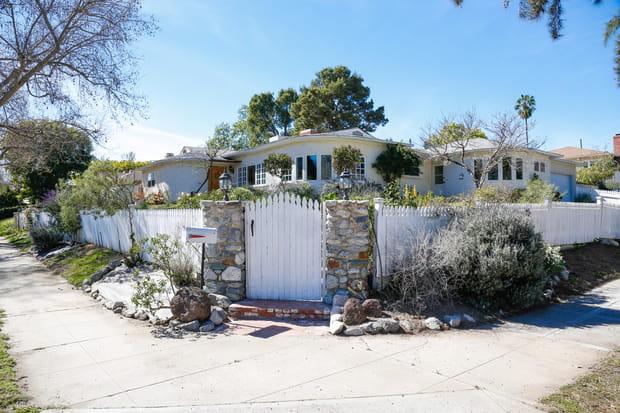 Le ranch d'Ava Gardner à Los Angeles (Etats-Unis)