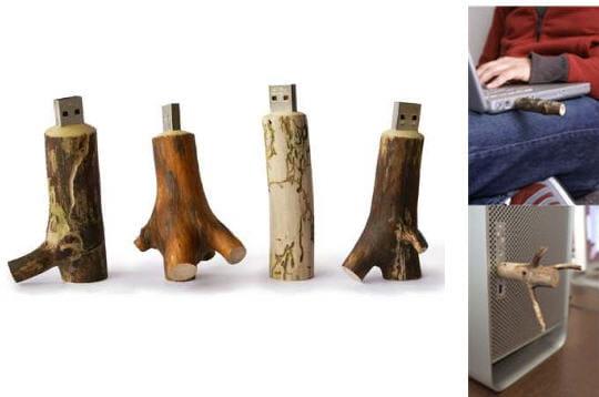 Clé en bois