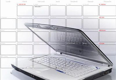 un calendrier esthétique et personnalisable