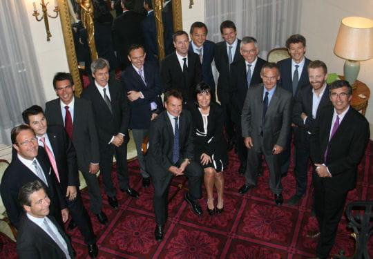 Le jury du prix du jeune dirigeant 2011