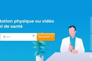 Doctolib, grand gagnant du secteur de la santé en mars