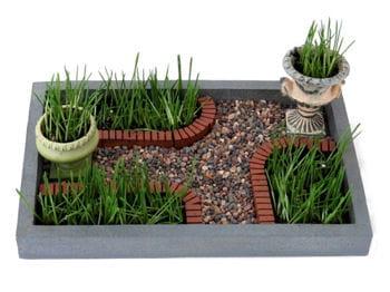 Le bonheur est dans le mini jardin for Jardin zen bureau