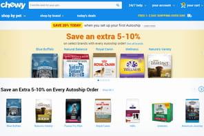 Chewy, le site US de petfood qui a du flair