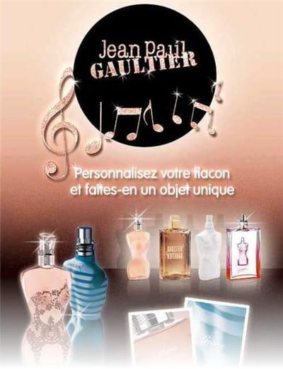 e-mailing 'personnalisez votre parfum jean-paul gaultier'