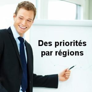 les régions constituent un acteur majeur de la formation.